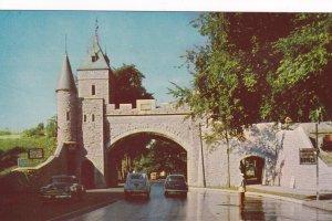 RUE SAINT-LOUIS, Quebec, 1950-1960s; Porte St-Louis Gate