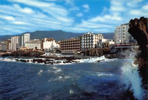 Spain Puerto de la Cruz Tenerife Partial view Postcard