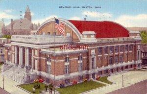 MEMORIAL HALL. DAYTON, OH 1946