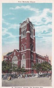 ST. PETERSBURG, Florida; The Sunshine City, First Methodist Church, 1910-20s