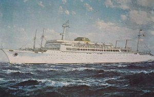 STEAMERS; PU-1959; The New S.S. Brasil