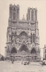 France Reims Cathedrale Facade
