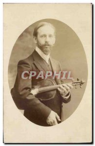 PHOTO CARD Violin Music Man