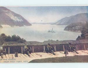 Pre-1907 RIVER SCENE West Point New York NY A1221