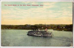 Island Queen , Ohio River, Cincinnati Ohio