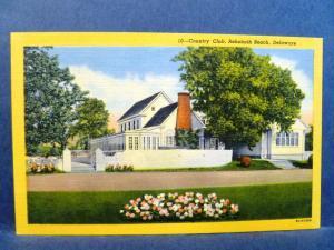 Old Postcard Country Club Rehoboth Beach DE
