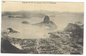 Rio de Janeiro - Entrada do Ria de Janeiro vista do Corcovado, Brazil 00-10s