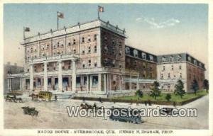 Quebec Canada, du Canada Magog House, Sherbrooke, Henry H Ingram, Prop  Magog...