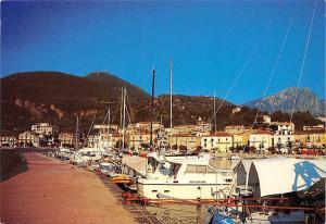 Italy Scario Il Porto Harbor Hafen Boats Bateaux Yachts