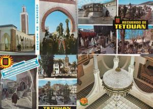 Morocco Tetouan Chandalier Markets 4x Postcard s