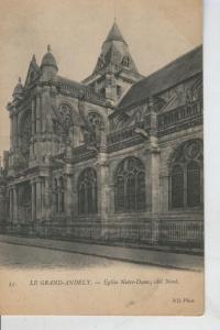 Postal 008544: Le Grand Andely, Eglise Notre Dame, cote Nord