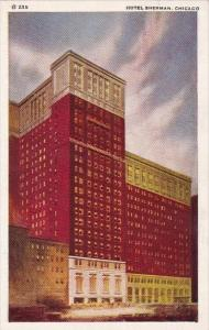 Illinois Chicago Hotel Sherman 1939