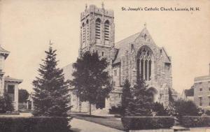 St Joseph's Catholic Church , LACONIA , New Hampshire , 20-30s