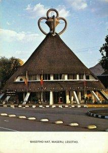 Vintage Africa Postcard, Basotho Hat, Maseru, Lesotho FR5