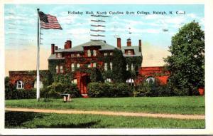 North Carolina Raleigh Holladay Hall North Carolina State College 1931