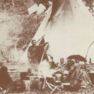 Mescalero's Apache Camp Old West Collectors Series El Paso Texas New Mexico Tipi