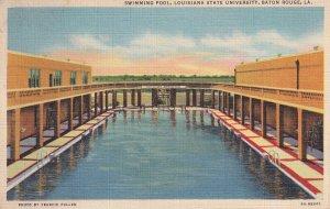 BATON ROUGE, Louisiana, PU-1942; Swimming Pool, Louisiana State University