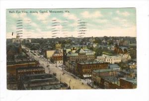 Bird's Eye View, Montgomery , Alabama, PU-1911