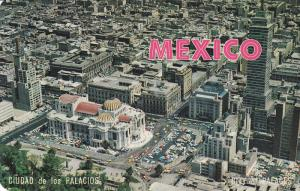 Aerial View, City of Palaces, Central District of Mexico City, Federal Distri...