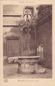 Margelle De Puits (XV Siecle), Musee De Cluny, Paris, France 1900-1910s