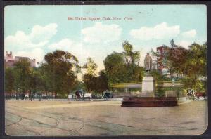 Union Square Park,New York,NY BIN