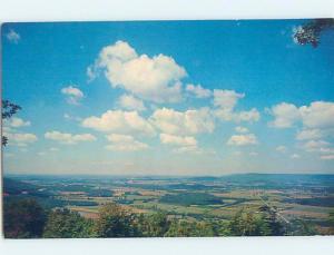 Pre-1980 PANORAMIC VIEW Monteagle - Near Tullahome & Chattanoga TN F9102