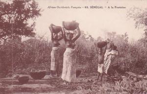 Africa Nude Topless Senegal A la Fontaine