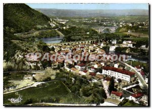 Modern Postcard St Nazaire En Royans Vue Generale