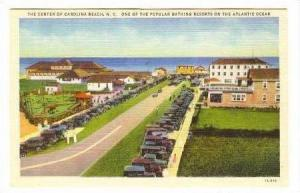 Aerial View, Center Of Carolina Beach, NC, 30-40s