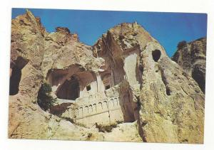 Turkey Goreme Karanlik Church Exterior Cliff View Postcard