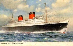 Cunard Line - RMS Queen Elizabeth