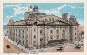 Colorado Denver Municipal Auditorium