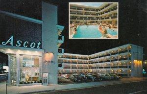 ATLANTIC CITY , New Jersey , 1950-60s ; The Ascot - Luxury Motel