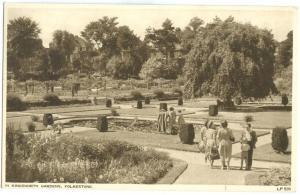 UK, In Kingsnorth Gardens, Folkestone, 1956 used Postcard
