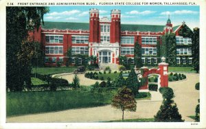 Entrance Administration Building Florida State College Women Tallahasse 06.55