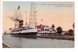 S S Turbinia Passing Royal Hamilton Yacht Club, Ontario,
