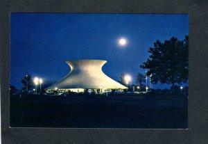 MO McDonnell Planetarium Stars Planets Forest Park St Louis Missouri Postcard