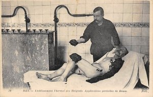 Medical Post Card Etablissement Thermal des Baignots Dax Writing on back
