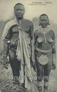 Daressalam - Natives (Tanganyika Territory) African Nude Unused