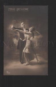 077324 TANGO Dancer Maxixe Bresilienne vintage PHOTO 2566-1