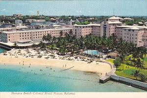 Bahamas Nassau Sheraton British Colonial Hotel