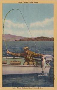 Nevada Lake Mead National Recreational Area Bass Fishing On Lake Mead 1958 Cu...