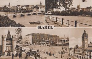 Basel Antique Swiss Switzerland Real Photo Postcard