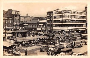 Ostrava Czech Republic Masarykovo Square Real Photo Postcard JH230790