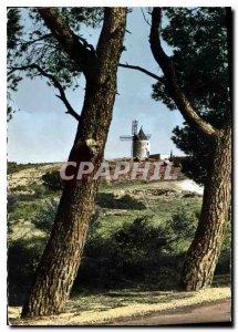 Postcard Modern Provence Moulin de Daudet