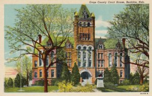BEATRICE, Nebraska, 1910-30s; Gage County Court House
