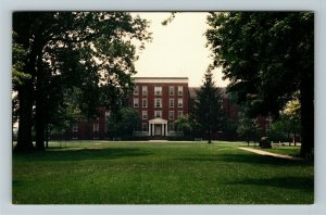 Richmond IN- Indiana, Earlham College, Earlham Hall, Chrome Postcard