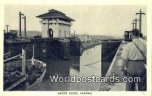 Panama Panama Gatun Locks