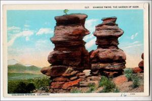 Siamese Twins, Garden of Gods, Colorado Springs Colo