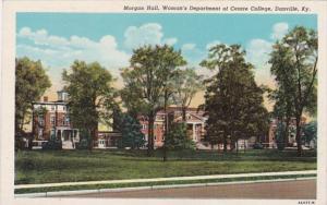 Kentucky Danville Morgan Hall Woman's Department Of Centre College Curteich